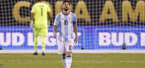 Lionel Messi decided to retire from international duty